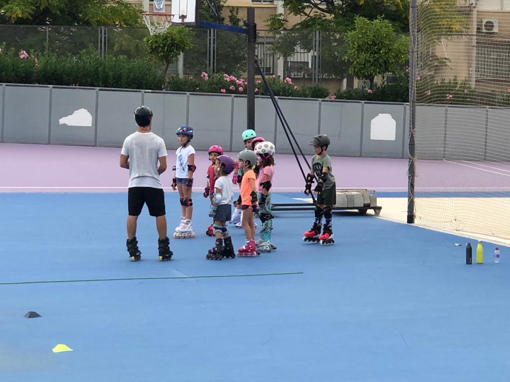 Clases de Patinaje en Linea Club Valencia Royals Betero Niños