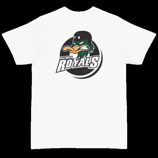 Camiseta Valencia Royals Blanco Back