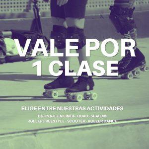 VALE POR 1 CLASE