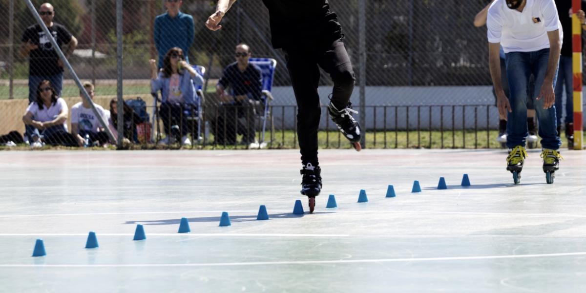 Clases de Patinaje en Valencia Slalom Freestyle