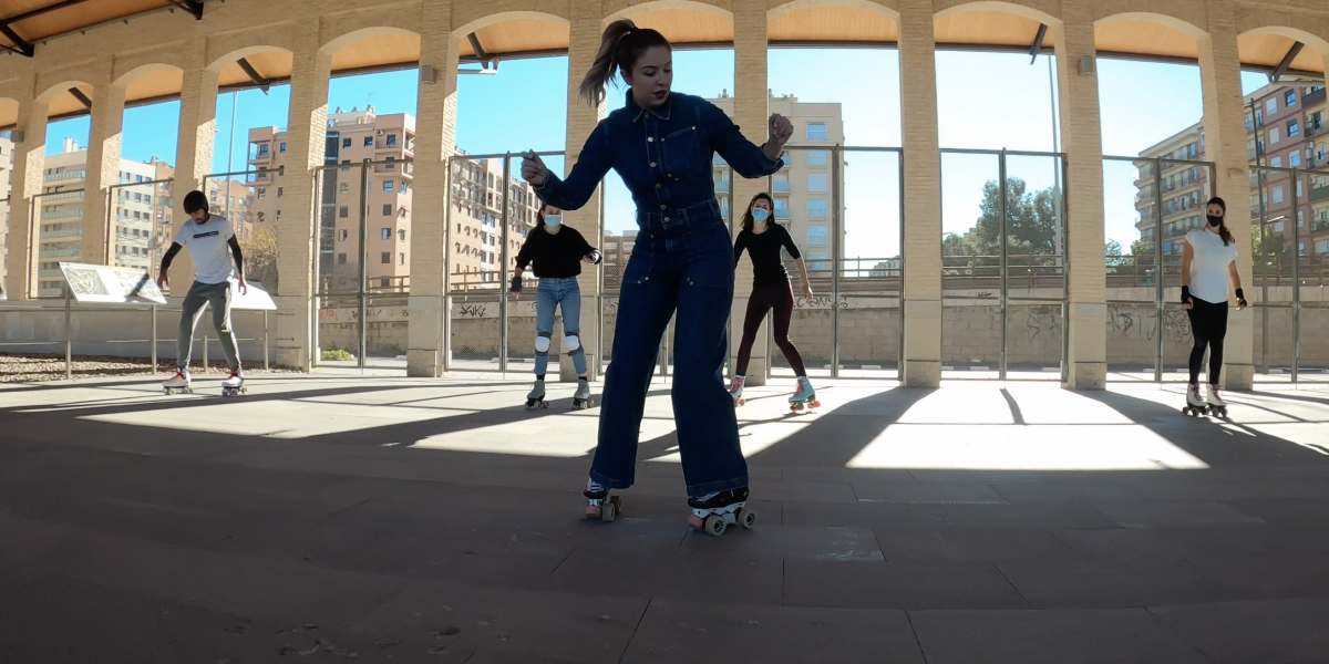 Club de Patinaje Valencia Royals Clases Escuela Quad Roller Dance