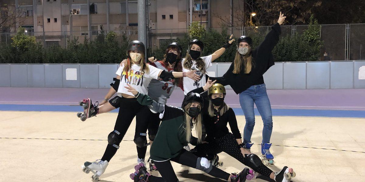 Clases de Patinaje Valencia Escuela Club Valencia Royals Grupo Quad Freestyle